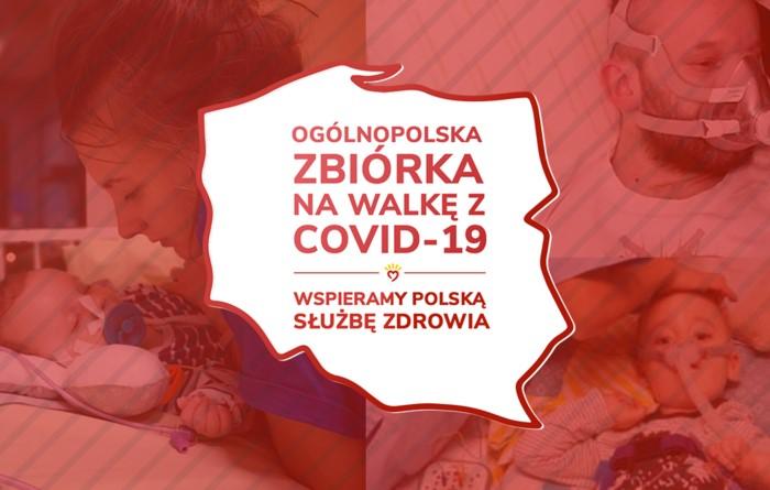 Wsparcie dla polskej służby zdrowia w czasie walki z epidemią COVID-19